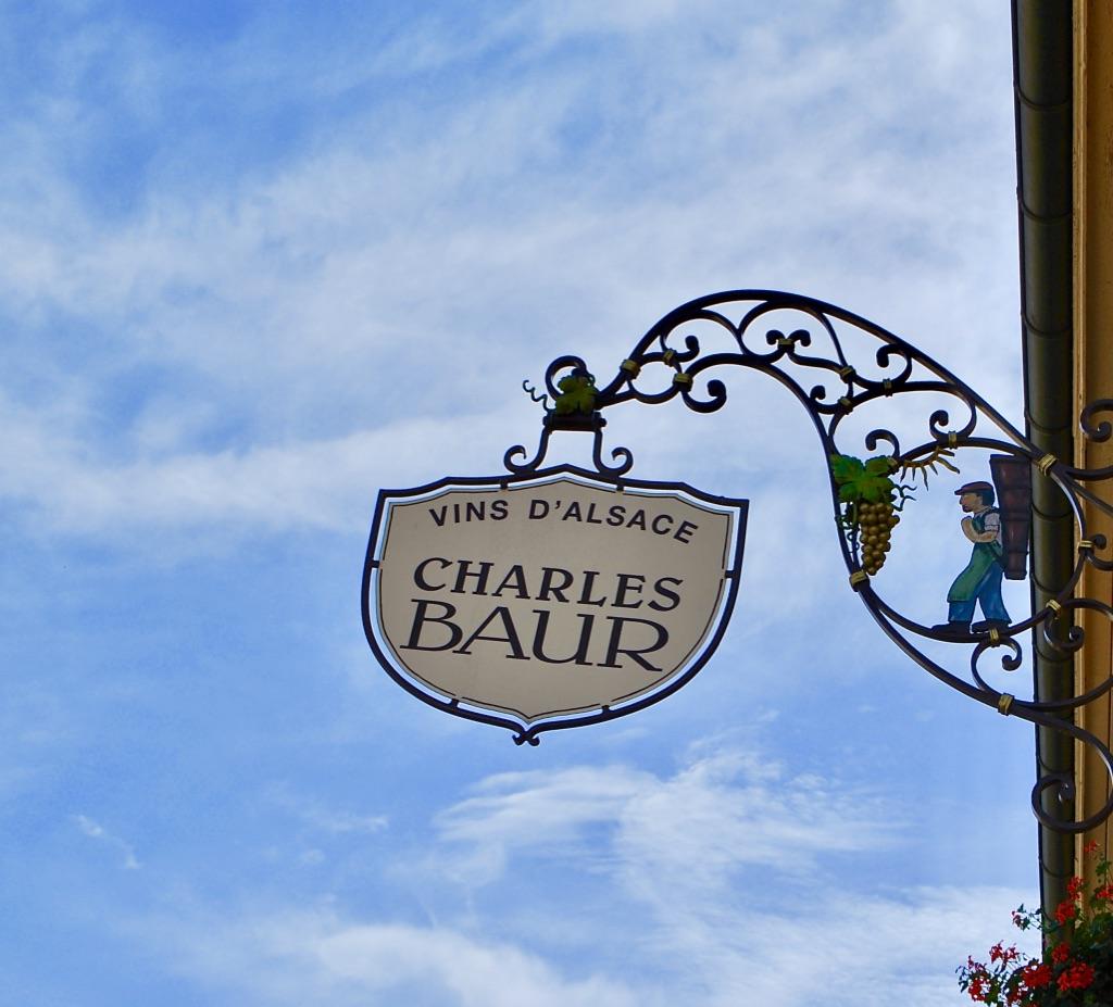 Het uithangbord van domaine Charles Baur