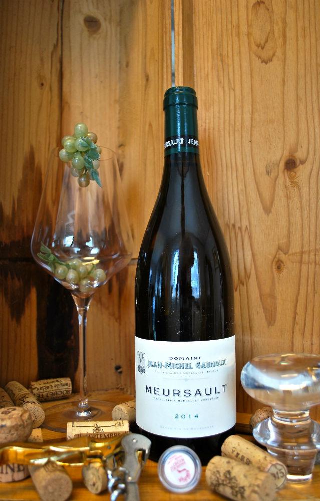 fles Bourgogne Meursault van Jean Michel Gaunoux