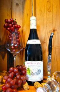 fles Bourgogne Givry 1er Cru, les grandes vignes