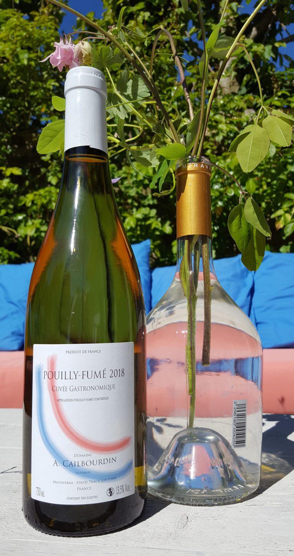 fles Pouilly Fumé cuvée Gastronomique