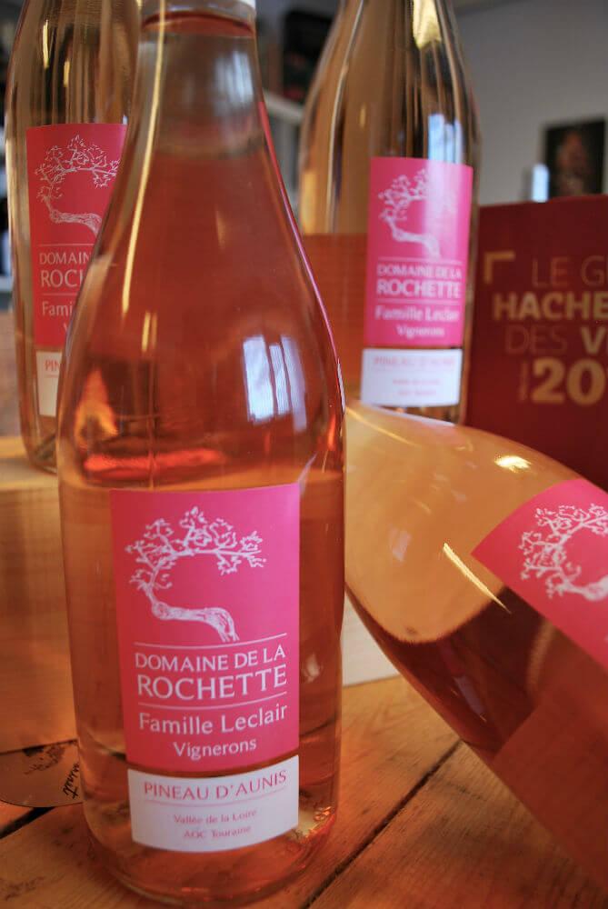 Pinot d'Aunis rosé van domaine de la Rochette