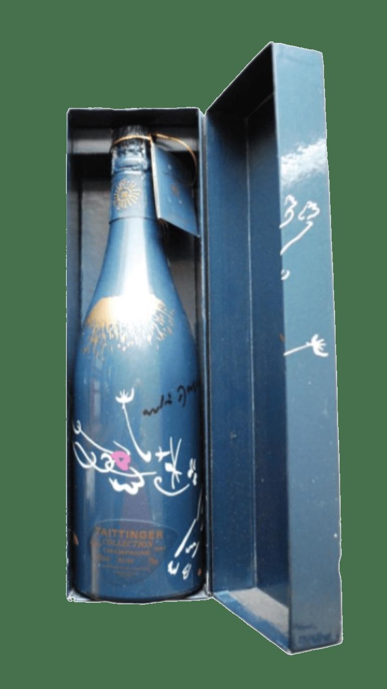 1 fles uit de collection Taittinger van André Masson uit 1987