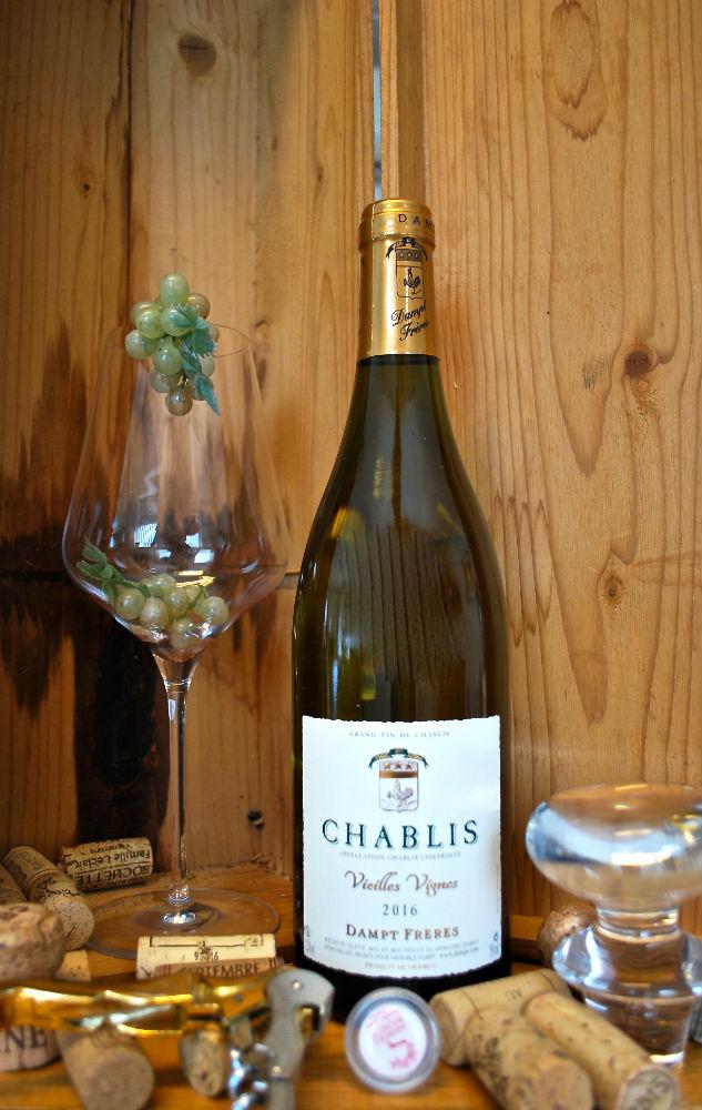 fles bourgogne blanc, Chablis - Vieilles Vignes
