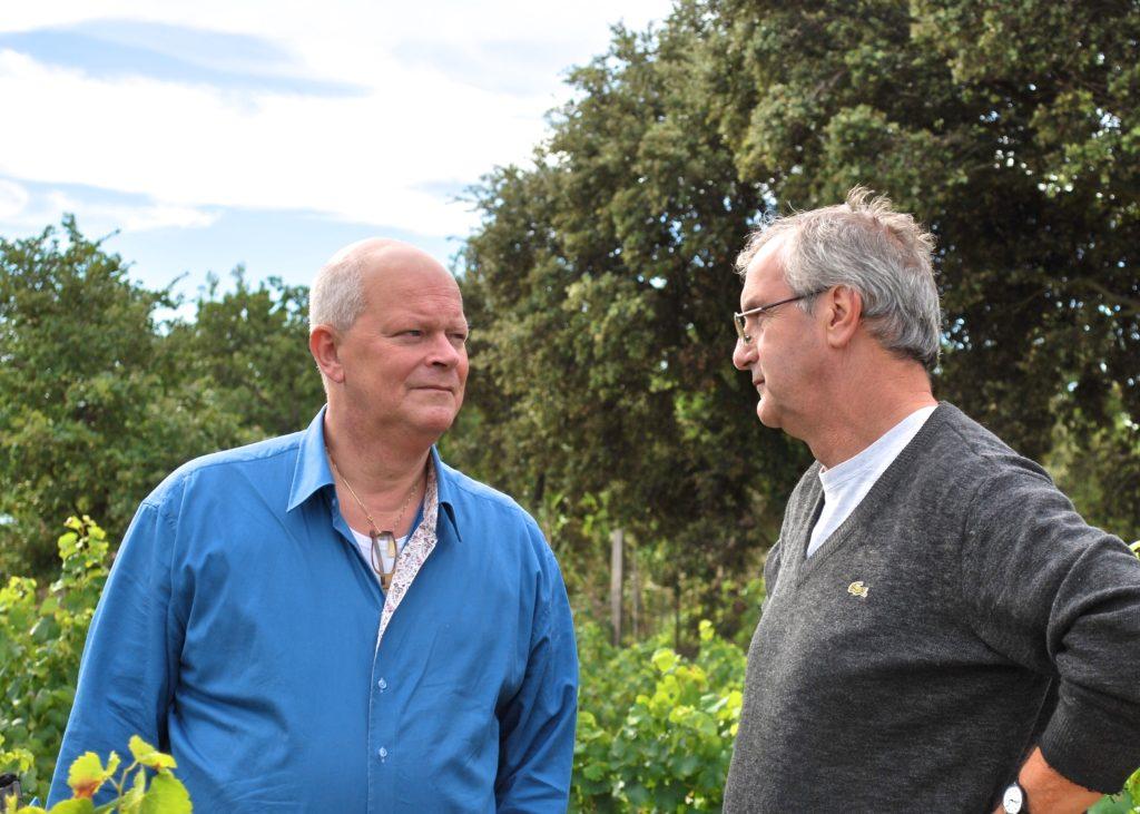 De Wijnman spreekt met Pierre Marseille, wijnmaker in Vacqueyras