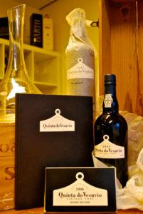 Vintage port van Quinta do Vesuvio in luxe verpakking