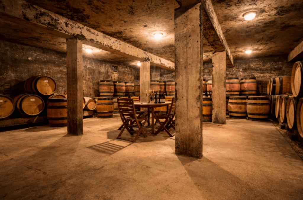 wijnkelder van domaine des Varoilles