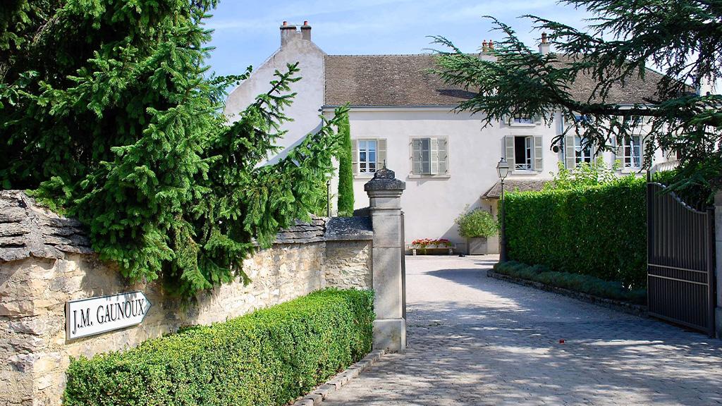 Woonhuis en wijnmakerij van de familie Gaunoux
