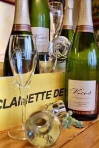 fles Clairette de Die van Domaine de Magord