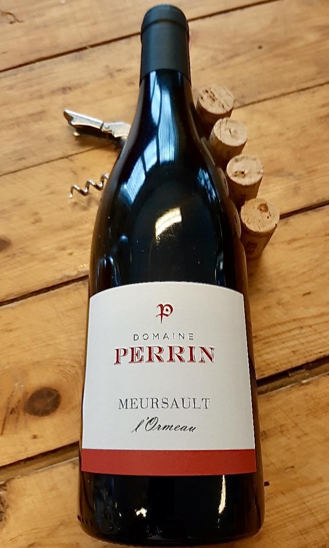 fles Meursault 'LOrmeau van domaine Perrin in de Bourgogne