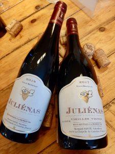Juliénas, veilles vignes. Een van de 10 cru's uit de Beaujolais