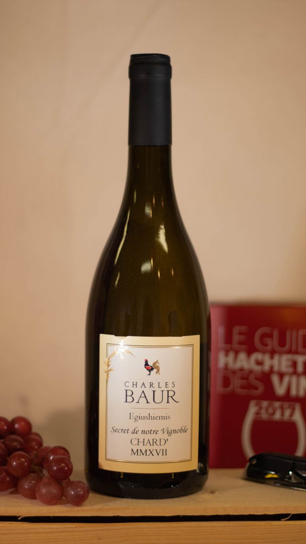 'Chard' le secret de vignoble - van domaine Charles Baur te Eguisheim