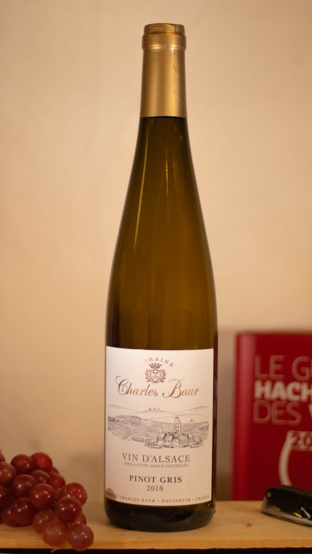 Pinot Gris van domaine Charles Baur