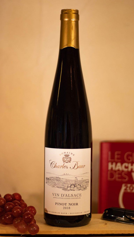 Rode Elzas wijn