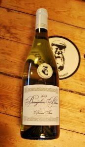 fles Beaujolais Blanc van Bernard Santé