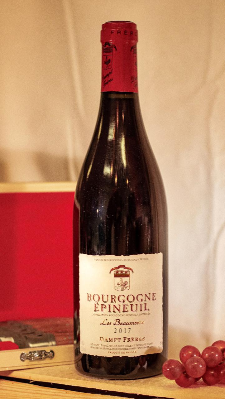 1 fles Bourgogne Epineuil wijn
