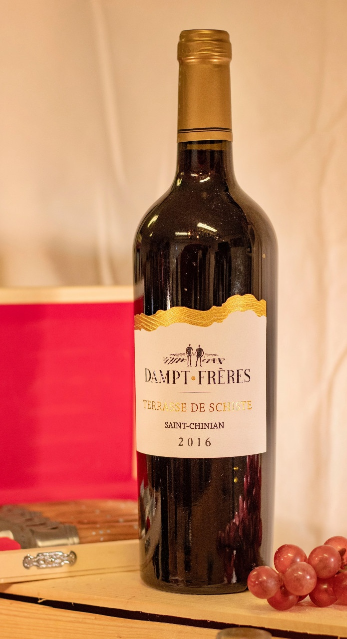 Fles wijn Saint Chinian