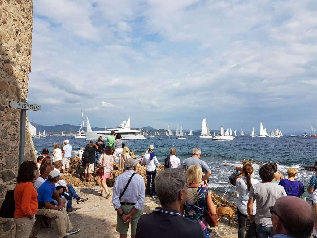 Regatta in Saint-Tropez